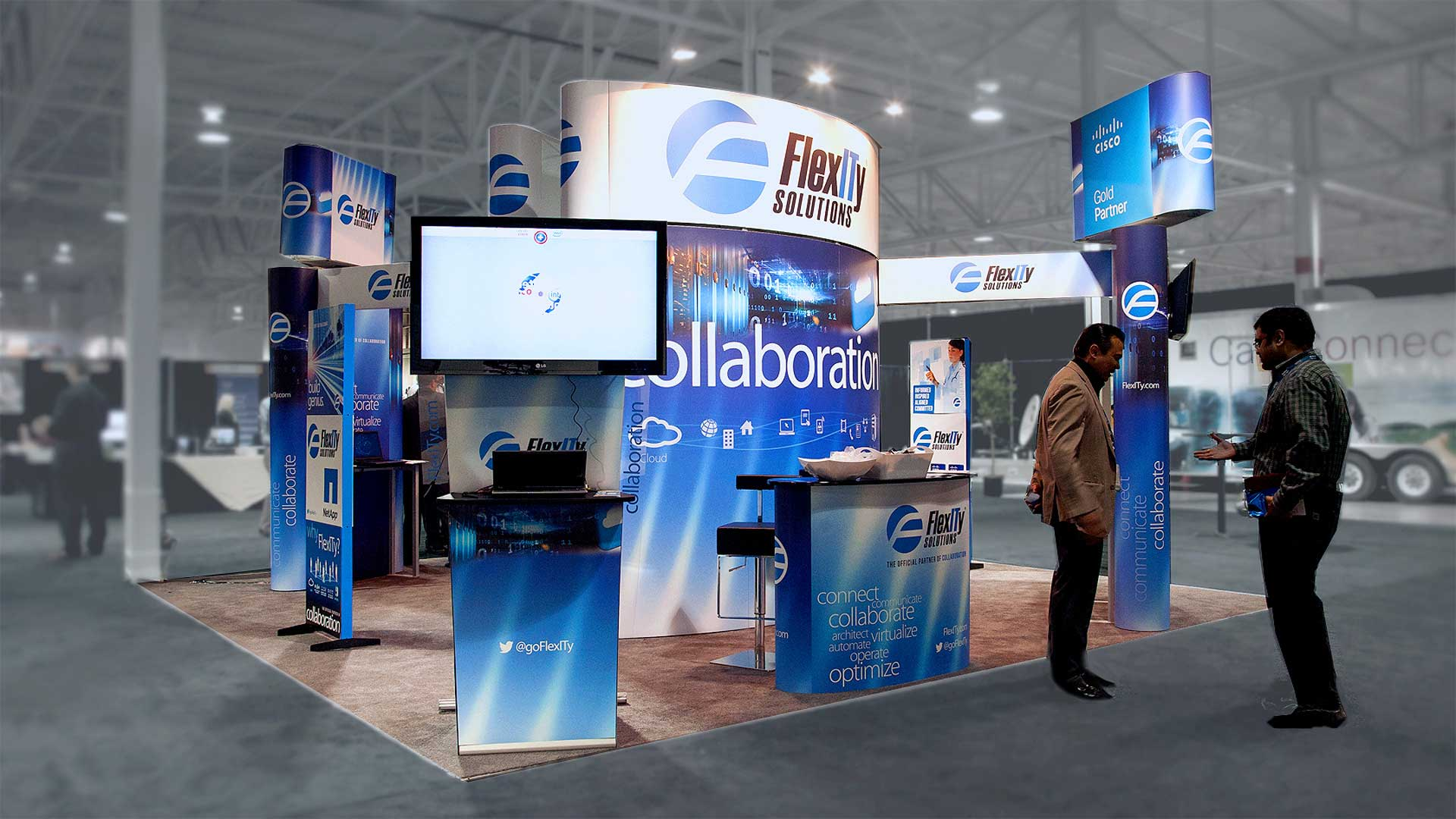 All of our display solutions are designed to make your brand and products stand out!
